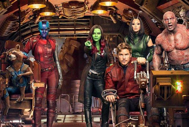Guardians of the Galaxy (Credit: Marvel)