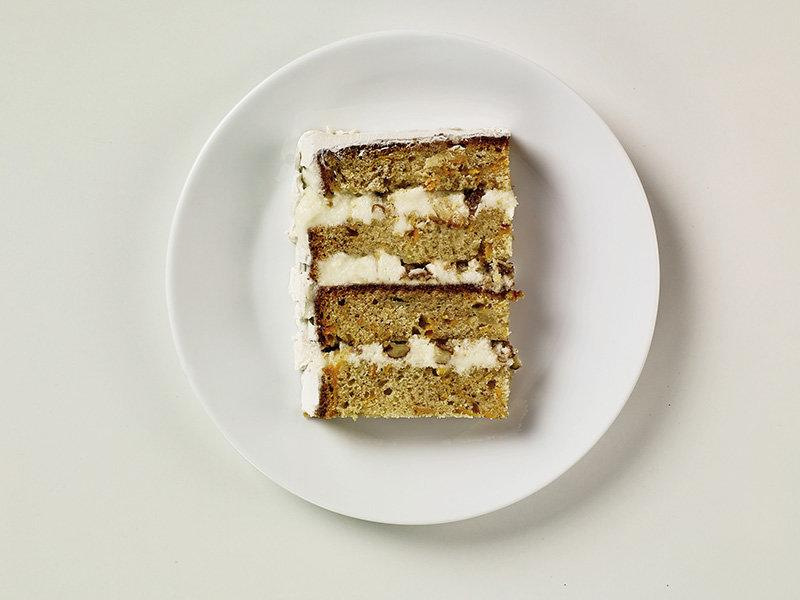 Gardner's sweet potato cake.  (Heath Robbins)