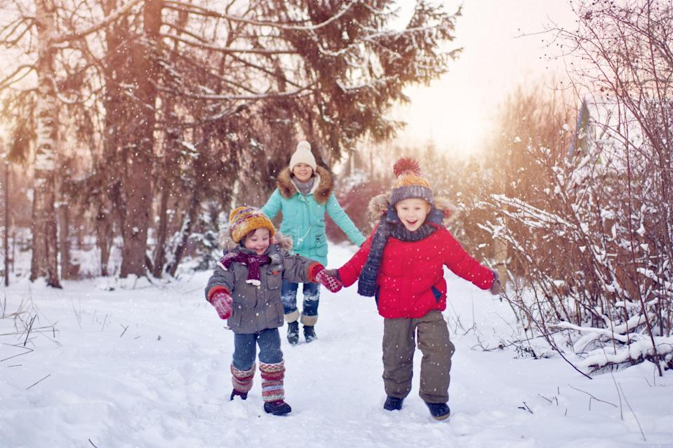 "<p>The holidays are not an excuse to ditch your exercise routine. If the festivities keep you from getting to the gym, sign up for a 5K walk/run, go sledding with the kids, or plan an family football game to burn calories. <span>""Even 10 minutes counts!"" says Sodus.</span></p>"