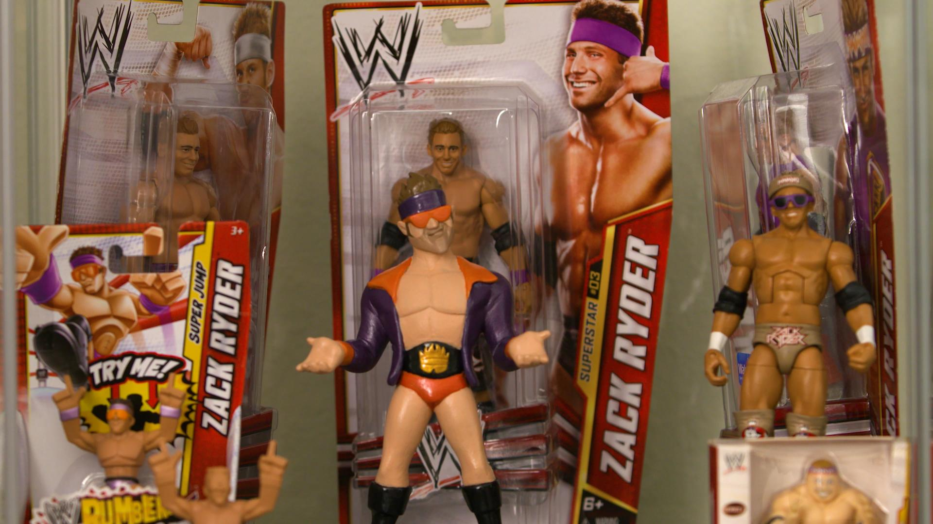 "Matt Cardona has dozens of Zack Ryder figures: ""I'm living my dream every single day. I wanted to be a WWE superstar and I am."""