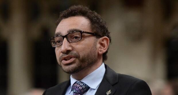 Transport Minister Omar Alghabra is dismissing a call to rename Montreal's Trudeau Airport (Sean Kilpatrick/Canadian Press - image credit)