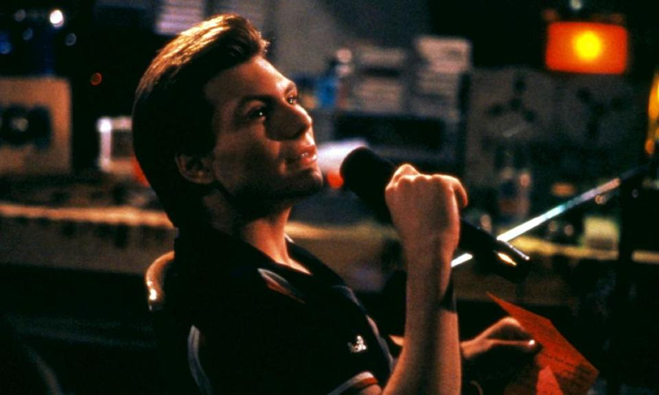 Christian Slater in Pump Up the Volume, 1990.