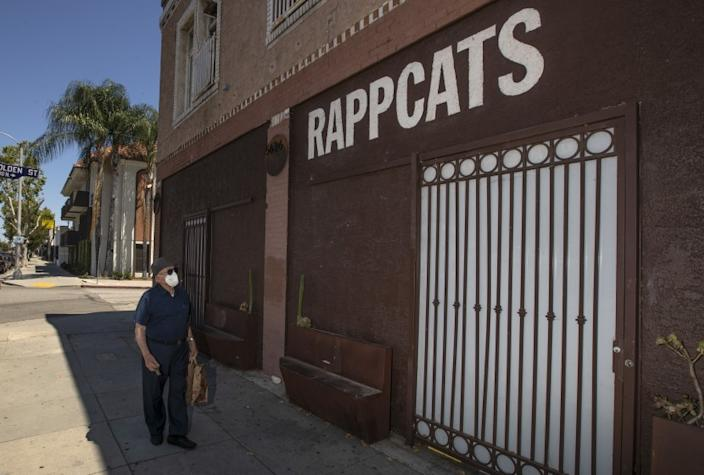 "Rappcats record shop in Highland Park, which has survived amid the COVID-19 pandemic. Other neighborhood stores have not been as fortunate. <span class=""copyright"">(Gina Ferazzi / Los Angeles Times)</span>"