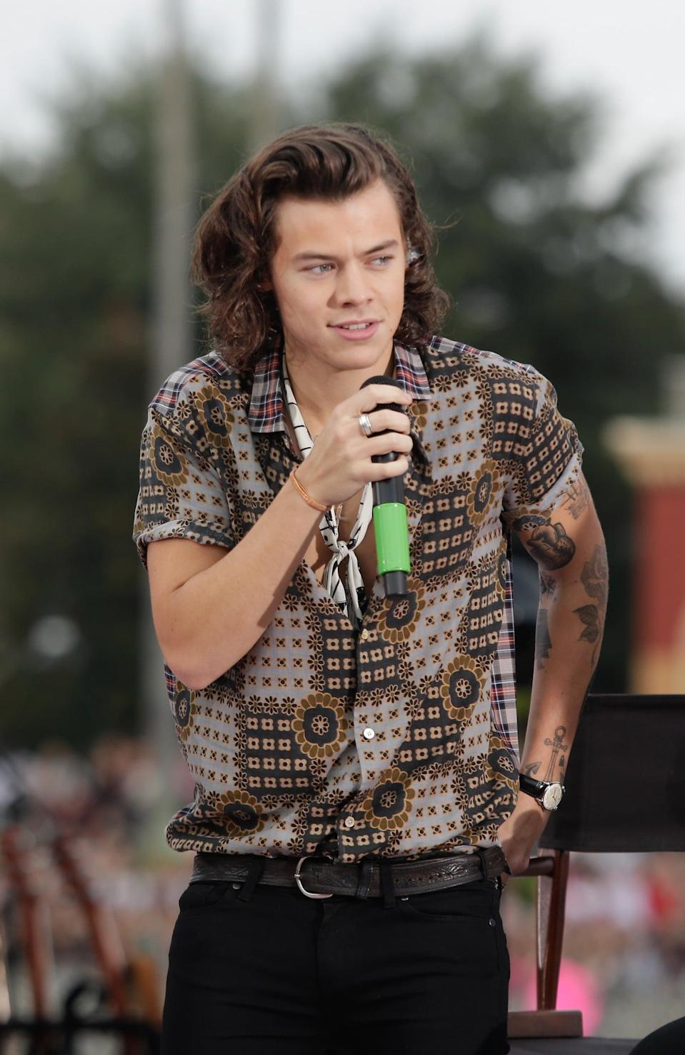 <p>But he got there! He beat the awkward phase and settled into luscious curls.</p>