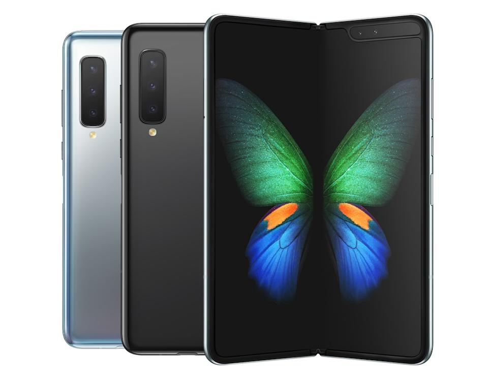 Samsung's Galaxy Fold got off to a rough start, but its design is still impressive enough to get it a special mention. (Image: Samsung)