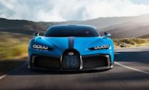 """<p>Last year, the """"base"""" <a href=""""https://www.caranddriver.com/bugatti/chiron"""" rel=""""nofollow noopener"""" target=""""_blank"""" data-ylk=""""slk:Bugatti Chiron"""" class=""""link rapid-noclick-resp"""">Bugatti Chiron </a>tied for the absolute worst fuel economy of all 2020 vehicles with just 11 miles per gallon. Unsurprisingly, sticking a giant wing on the rear decklid to create the track-focused <a href=""""https://www.caranddriver.com/news/a31210941/bugatti-chiron-pur-sport-photos-info/"""" rel=""""nofollow noopener"""" target=""""_blank"""" data-ylk=""""slk:Chiron Pur Sport"""" class=""""link rapid-noclick-resp"""">Chiron Pur Sport</a> has led to a car with even worse fuel economy. But the Chiron Pur Sport is now tied for the worst gas mileage among 2021 vehicles with 10 mpg, and the EPA says that Pur Sport owners will spend $9.45 to drive just 25 miles. Plus the $3.6 million price tag for the car itself, so whatever. You buy a Chiron for the 9.4-second quarter-mile time and W-16 engine, not for its fuel economy.</p><ul><li>Base price: $3,600,000 </li><li>Engine: 1500-hp quad-turbo 8.0-liter W-16 engine, seven-speed dual-clutch automatic transmission</li><li>EPA Fuel Economy combined/city/highway: 10/8/13 mpg</li></ul><p><a class=""""link rapid-noclick-resp"""" href=""""https://www.caranddriver.com/news/a36651967/bugatti-chiron-super-sport-revealed/"""" rel=""""nofollow noopener"""" target=""""_blank"""" data-ylk=""""slk:MORE CHIRON PUR SPORT INFO"""">MORE CHIRON PUR SPORT INFO</a></p>"""