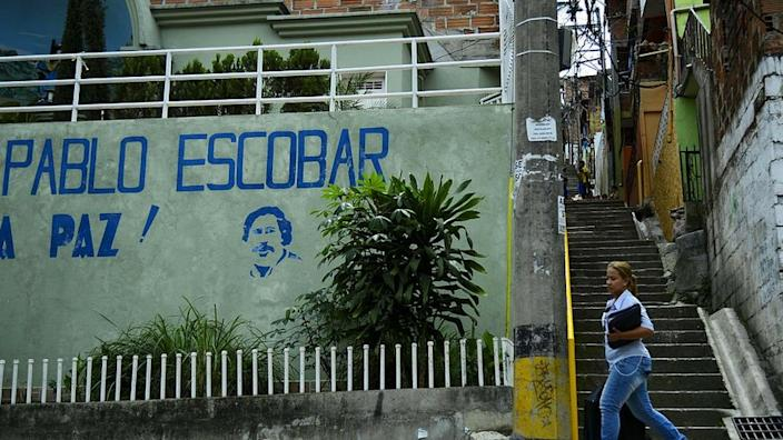 The money was discovered in an apartment where Escobar's nephew lives