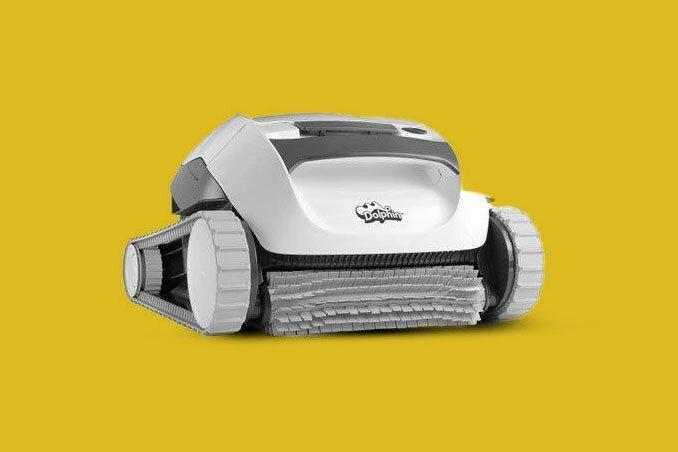Dolphin E10 Robotic Automatic Pool Cleaner