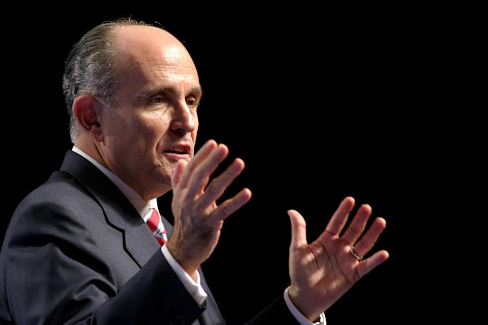 Former New York City Mayor Rudolph Giuliani. (Photo: Erik Perel/AP)