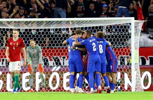 England recorded an impressive victory in Hungary