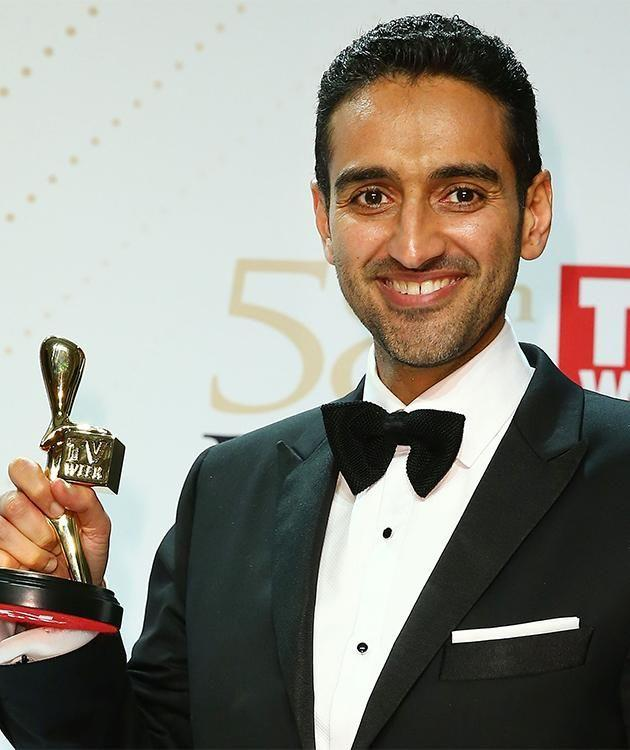 Waleed Aly at the Logies. Photo: getty