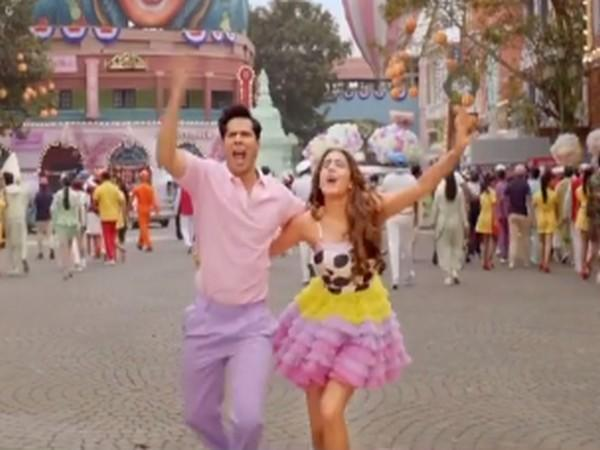 A still from the teaser of 'Mirchi Lagi Toh' (Image Source: Instagram)
