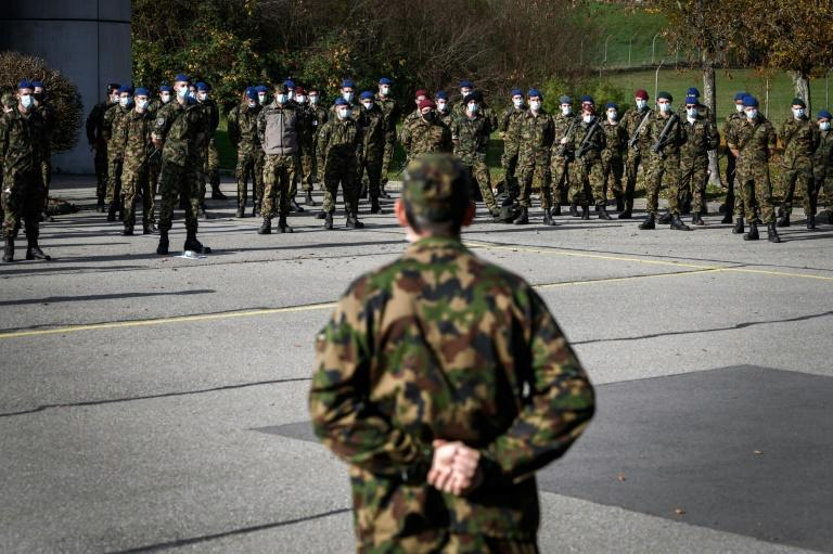 The deployment could last until the end of March