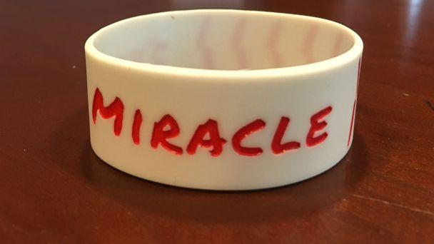 PHOTO: 'Seek a miracle' bracelets made in honor of Sam Bridgman's graduation from USF on May 7, 2017. (Lorie Briggs)