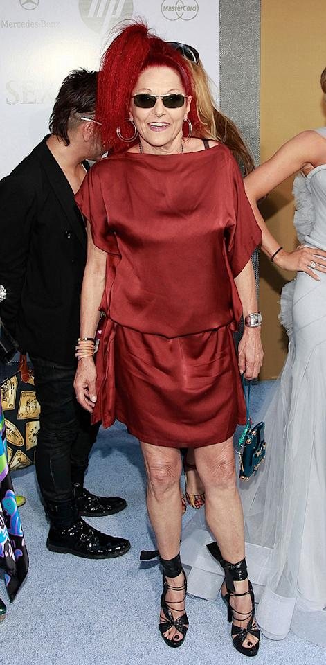 "<a href=""http://movies.yahoo.com/movie/contributor/1808860307"">Patricia Field</a> at the New York City premiere of <a href=""http://movies.yahoo.com/movie/1810111276/info"">Sex and the City 2</a> - 05/24/2010"