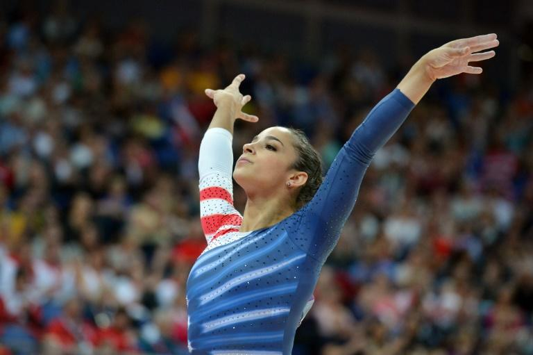US gymnast Aly Raisman, shown here at the 2012 London Olympic Games, is one of those who have accused Nassar of abuse