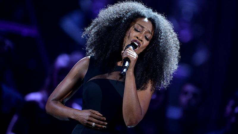 Beverley Knight is fronting a new charity single Lean On Me, which aims to raise money for NHS charities