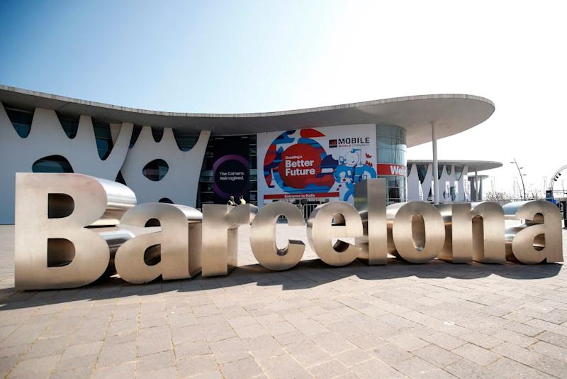 SPAIN-TELECOM-WORLD-MOBILE-CONGRESS-SECURITY