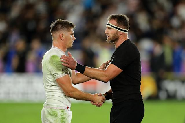 Captains Owen Farrell and Kieran Read (Credit: Getty Images)