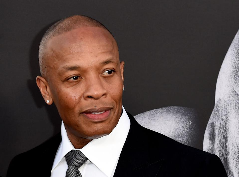 Dr. Dre suffered a brain aneurysm in January. (Photo: Kevin Winter/Getty Images)