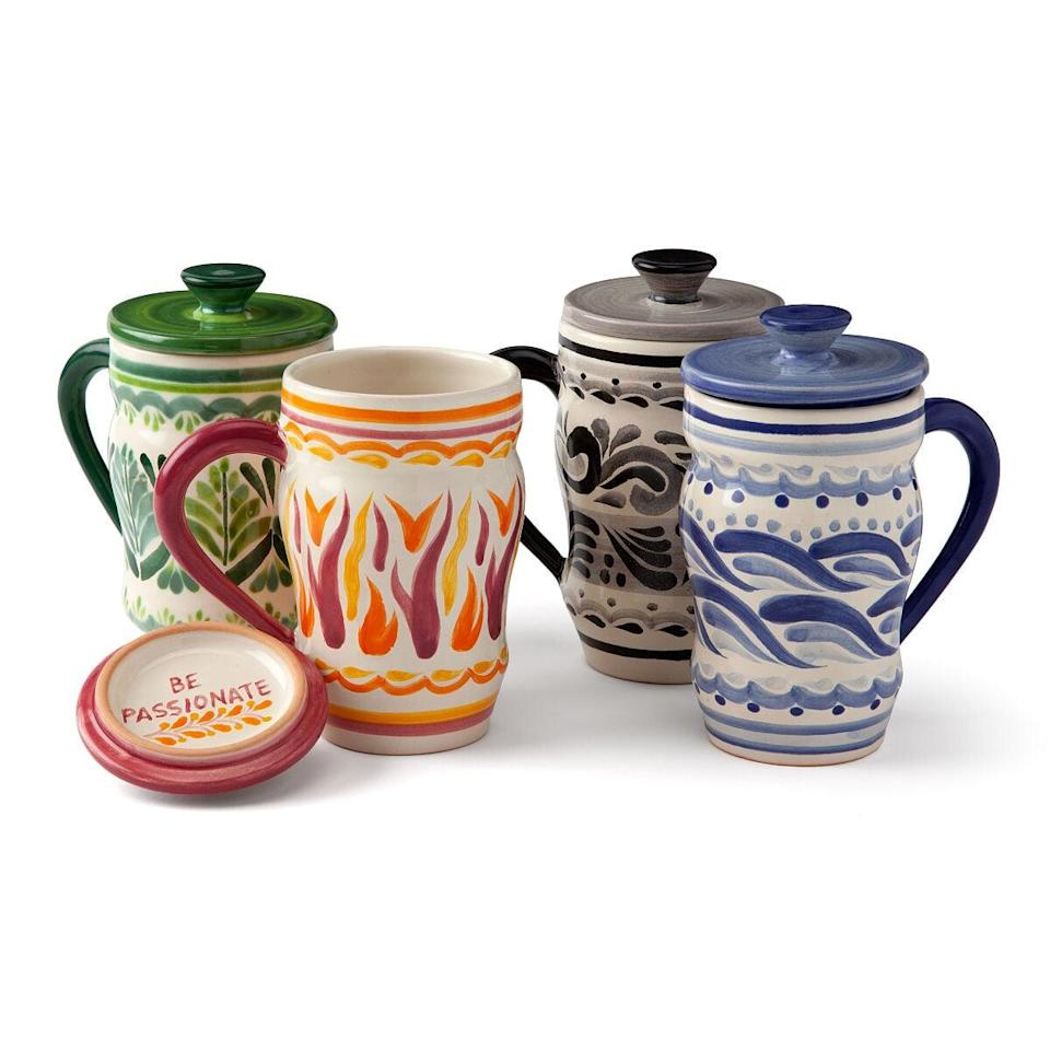 <p>These <span>Elements Tea Steep Mug</span> ($38) are perfect if your grandma loves her tea or coffee.</p>