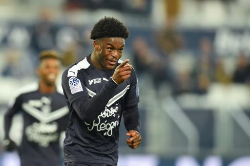Londob-born youngster Josh Maja scored his first senior hat-trick as Bordeaux hammered Nimes