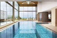 """<p><strong>Current deal: Rooms from £230 per night</strong></p><p><strong>Spa and pools partly open</strong> </p><p>For the best spa hotel in Cornwall, <a href=""""https://go.redirectingat.com?id=127X1599956&url=https%3A%2F%2Fwww.booking.com%2Fhotel%2Fgb%2Fthe-scarlet.en-gb.html&sref=https%3A%2F%2Fwww.womenshealthmag.com%2Fuk%2Ffitness%2Ffitness-holidays%2Fg31282174%2Fbest-spas-in-uk%2F"""" rel=""""nofollow noopener"""" target=""""_blank"""" data-ylk=""""slk:The Scarlet"""" class=""""link rapid-noclick-resp"""">The Scarlet</a> gives you everything you need for a restful break by the sea. Located on Mawgan Porth Beach, the views are breathtaking and the setting combined with the spa make this one of the most spiritual spots in Britain. </p><p>Spend the night here and you'll have plenty of time to luxuriate in the pools, outdoor hot tubs, hammam and rhassoul. We love the indoor-outdoor feel of this spa that allows you to make the most of the excellent destination, whether you're stargazing from a hot tub or swimming laps overlooking the sands. </p><p><a class=""""link rapid-noclick-resp"""" href=""""https://go.redirectingat.com?id=127X1599956&url=https%3A%2F%2Fwww.booking.com%2Fhotel%2Fgb%2Fthe-scarlet.en-gb.html&sref=https%3A%2F%2Fwww.womenshealthmag.com%2Fuk%2Ffitness%2Ffitness-holidays%2Fg31282174%2Fbest-spas-in-uk%2F"""" rel=""""nofollow noopener"""" target=""""_blank"""" data-ylk=""""slk:FIND OUT MORE"""">FIND OUT MORE</a></p>"""
