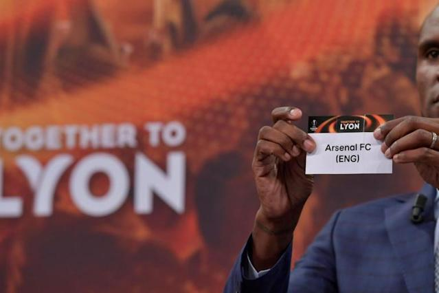 Europa League draw LIVE: Arsenal, Atletico Madrid and AC Milan last-16 fixtures and opponents