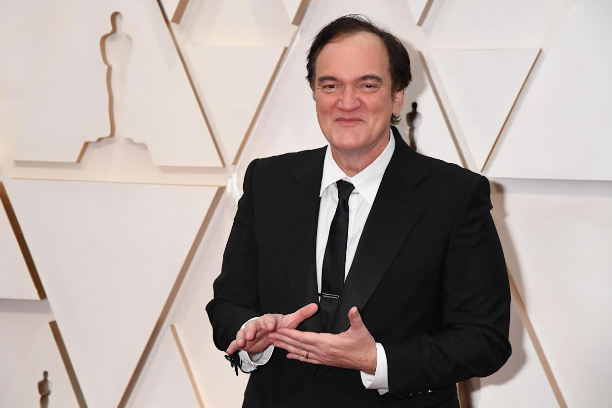 Quentin Tarantino still plans to retire after his next project. (Photo by Jeff Kravitz/FilmMagic)