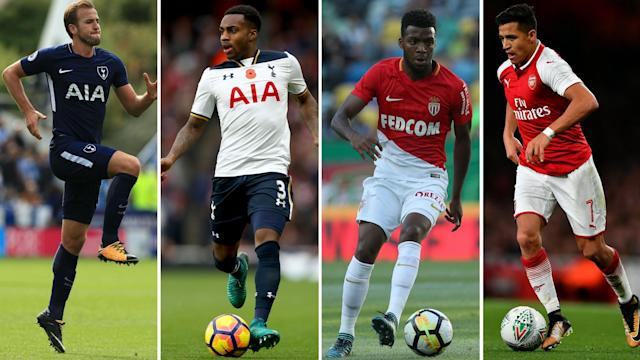 Kane, Rose, Lemar and Sanchez – all wanted but who will make a move?