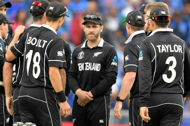 New Zealand captain Kane Williamson and team are into the World Cup final (AFP Photo/Dibyangshu Sarkar)