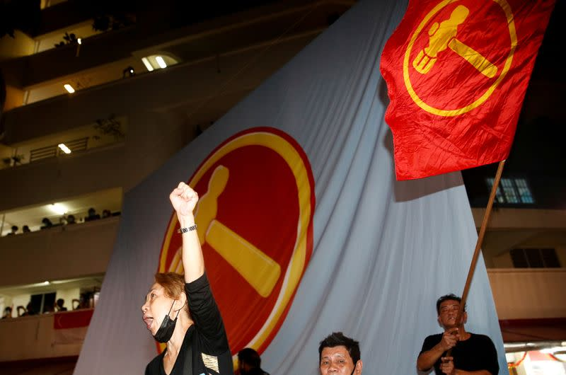 FILE PHOTO: General election in Singapore