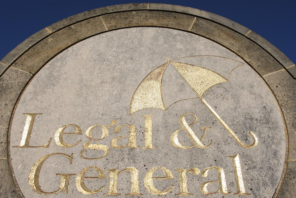 General view of a sign at the offices of Legal and General, in Kingswood, Surrey.   (Photo by Dominic Lipinski/PA Images via Getty Images)