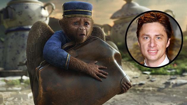 Zach Braff gets some good laughs as Finley in 'Oz the Great and Powerful'