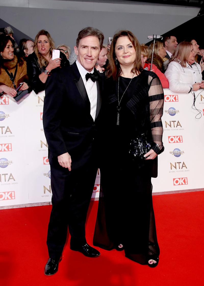 Rob Brydon and Ruth Jones  (Photo: Mike Marsland via Getty Images)
