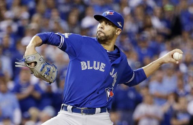 David Price was dealing for the Blue Jays in 2015. (AP)