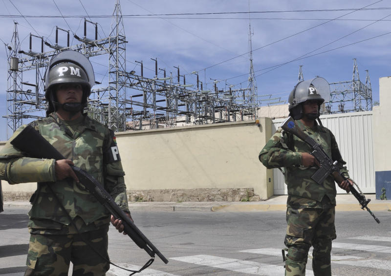 Bolivia's president nationalizes electrical grid