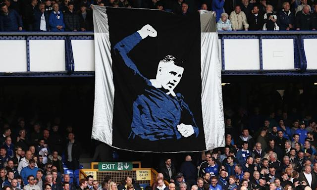 "<span class=""element-image__caption"">The Everton fans displayed a Ross Barkley banner during Saturday's Premier League match against Burnley at Goodison Park,</span> <span class=""element-image__credit"">Photograph: Jan Kruger/Getty Images</span>"