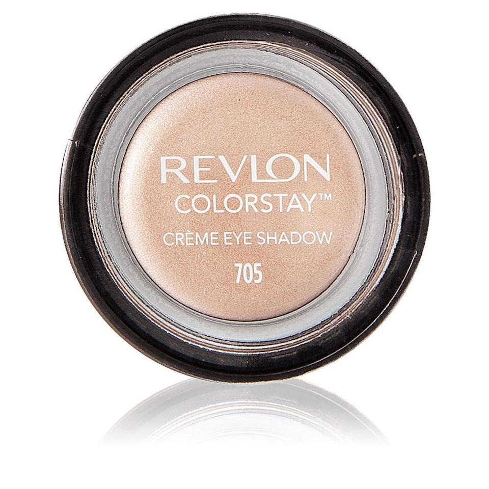 """<h3>Revlon ColorStay Crème Eye Shadow</h3><br><strong>Grace</strong><br><br>""""For $5, I'm blown away at how pretty these shadows are. There's also a ton of product in the jar – more than you would think – so it lasted me a super long time before repurchasing. It also comes with a tiny brush, but I actually prefer to just apply with clean fingers. I love to use them alone for a sheer wash of color, or under a powder shade for long wear and more intensity.""""<br><br><strong>Revlon</strong> ColorStay Crème Eye Shadow, $, available at <a href=""""https://amzn.to/30REioR"""" rel=""""nofollow noopener"""" target=""""_blank"""" data-ylk=""""slk:Amazon"""" class=""""link rapid-noclick-resp"""">Amazon</a>"""