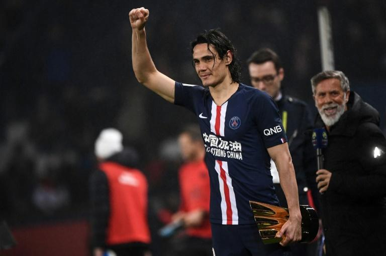 Edinson Cavani has won six Ligue 1 titles since joining PSG in 2013