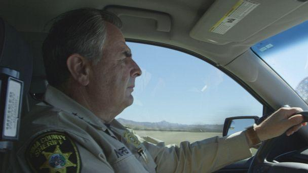 PHOTO: Thousands of miles from Washington D.C. in Pima County, Arizona, Sheriff Mark Napier works on the front lines of the border crisis. (ABC)