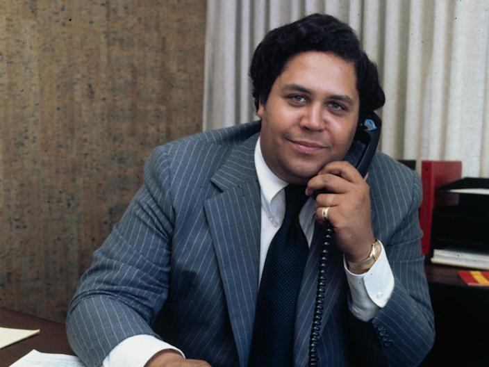 Maynard Jackson, the first black mayor of Atlanta.