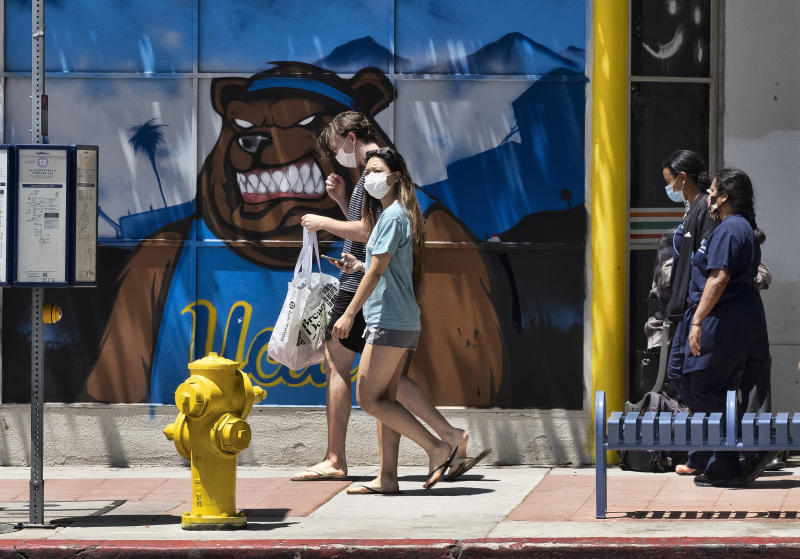 In Los Angeles County, July 4 could mean freedom from lockdown