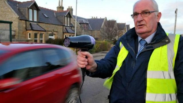Scottish resident posing as traffic enforcer