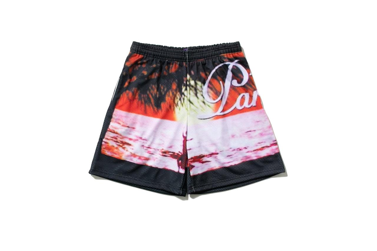 "$120, Union. <a href=""https://store.unionlosangeles.com/products/union-x-nvi-escape-to-paradise-bball-shorts?variant=28697768198221"">Get it now!</a>"