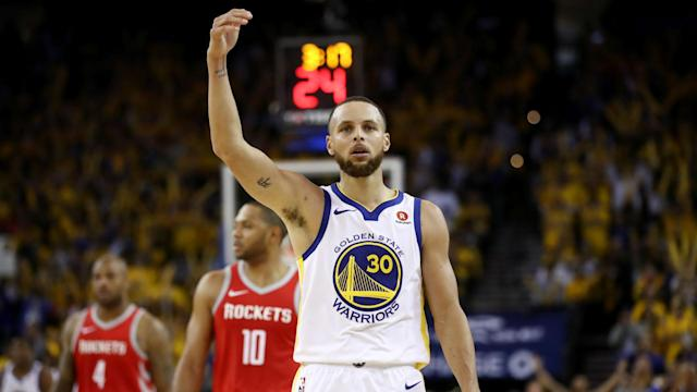 A foul-mouthed outburst in the Golden State Warriors hammering of the Houston Rockets did not sit well with Stephen Curry's mother.