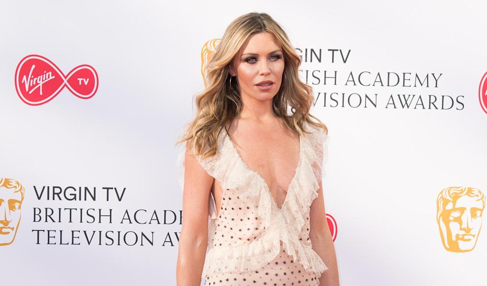 Abbey Clancy at the British Academy Television Awards in May [Photo: Getty]