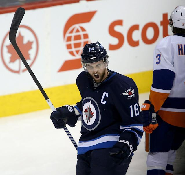 Andrew Ladd blasted for choosing birth of child over Winnipeg Jets game