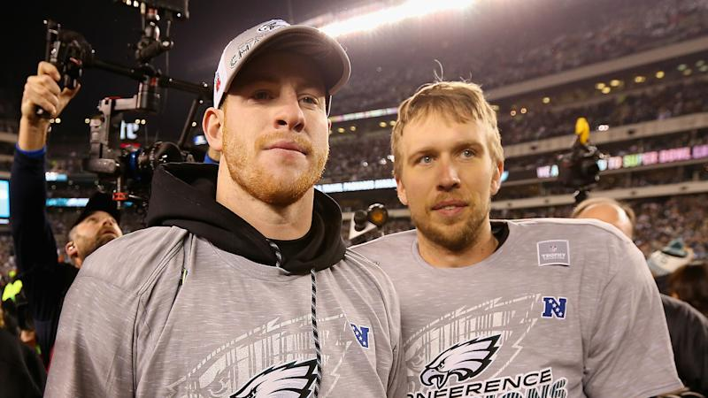 Long on Eagles having Wentz, Foles: It's really a dream