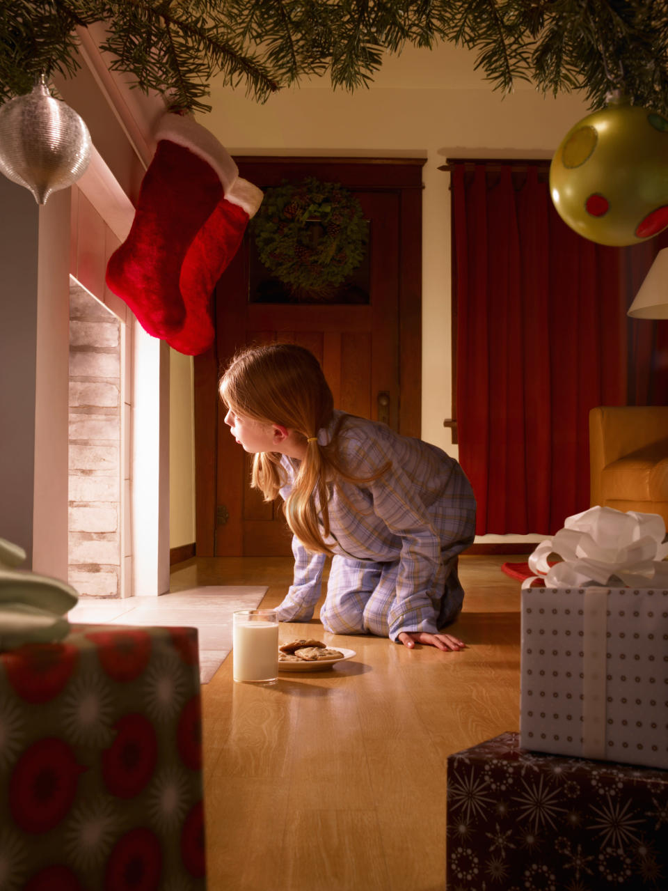 Should parents prolong the magic of Christmas for their children? [Photo: Getty]